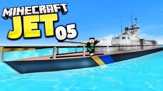 MEGA KRIEGSSCHIFF + RAKETEN ABWEHR - Minecraft Jet #5 │ GommeHD