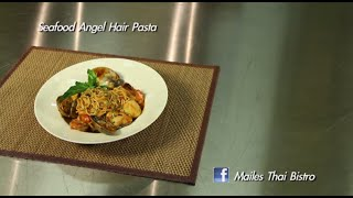 Seafood Angel Hair Pasta : In The Kitchen With Maile