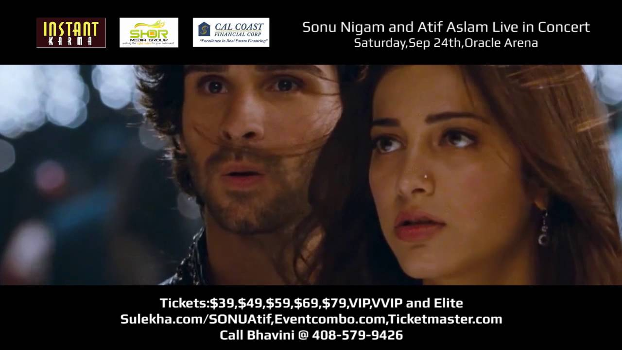 Sonu Nigam and Atif Aslam Live in Concert,Bay Area: Klose to You