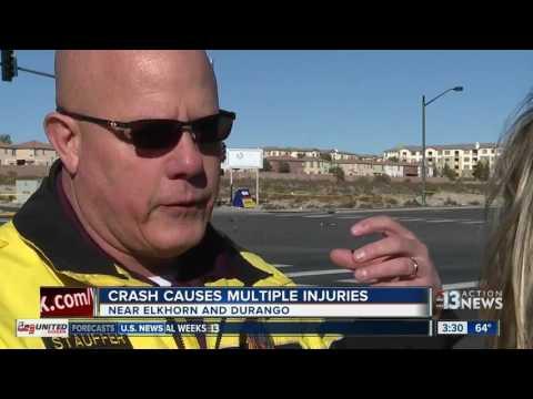 UPDATE: 8car crash near Durango and Elkhorn