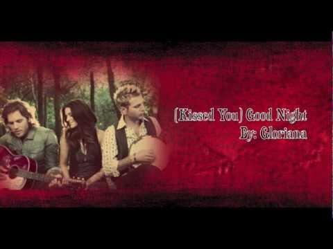 Gloriana - Kissed You Good Night Lyrics