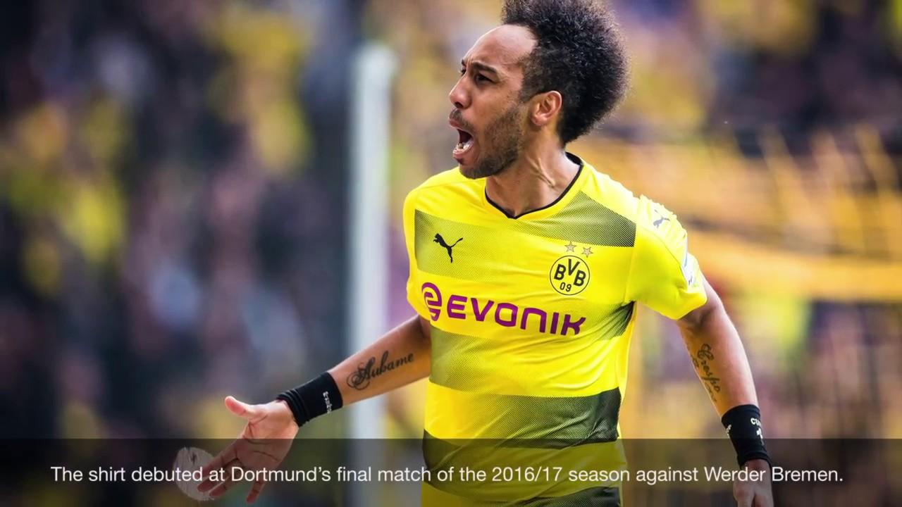 28b3e3cd40d The PUMA Borussia Dortmund 2017/2018 Home Jersey - YouTube