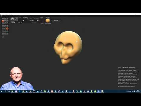3D Programm (kostenlos) –  Sculptris