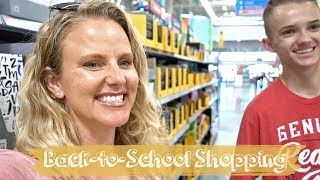 Back to School Shopping || Supplies, Clothes, & Lunch Food