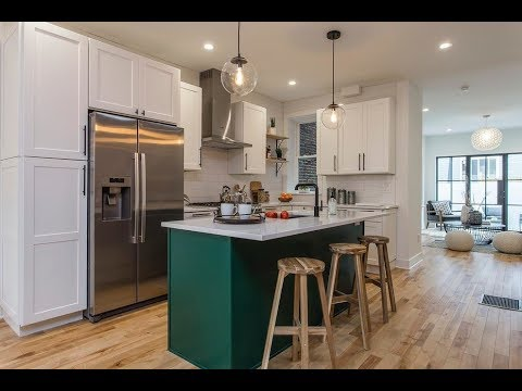 Philly Revival Featuring Solid Wood Cabinets Kitchen   Extended Version