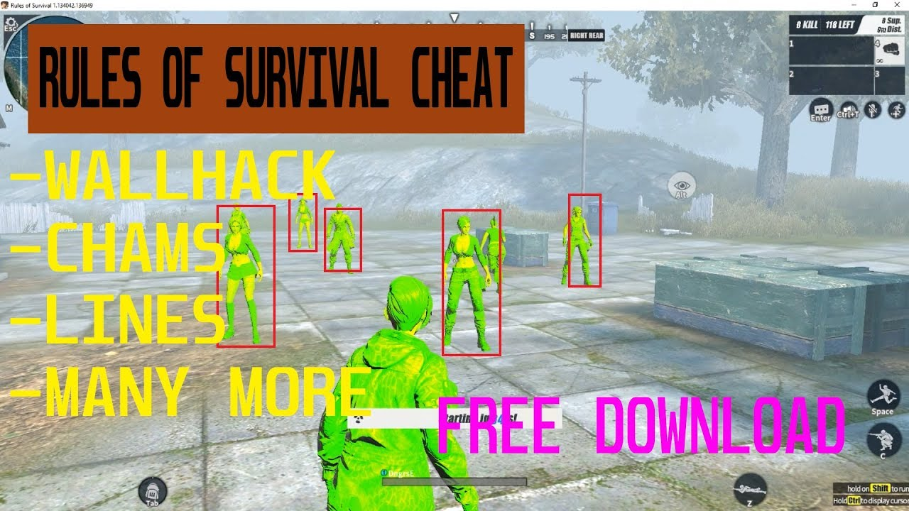 Request] New Update for Rules of Survival 1 23 2017 - MPGH