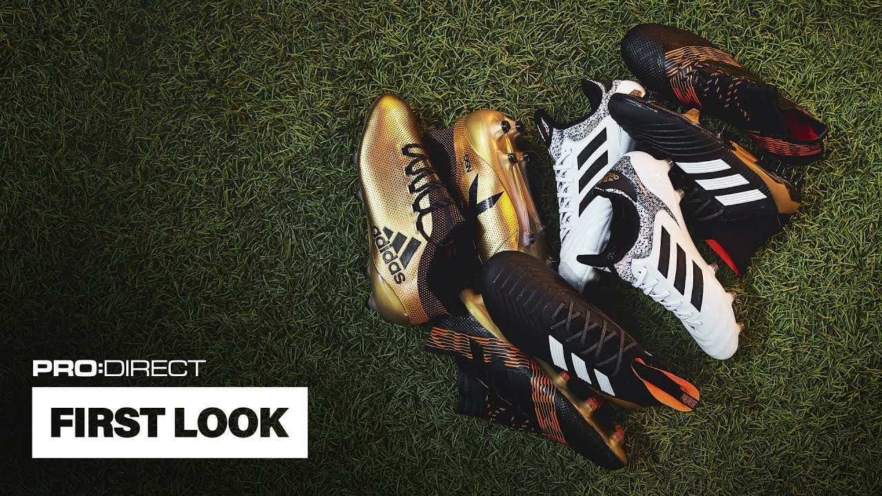 newest e9881 38bf7 FIRST LOOK  adidas Skystalker Pack   X 17+, COPA 18.1   NEMEZIZ 17+. Pro Direct  Soccer