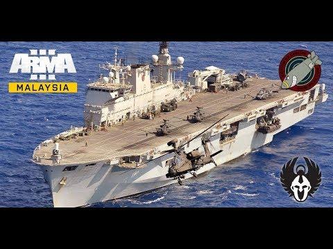 ArmA 3 Malaysia - Operation Sea Demon [161017] (LIVE)