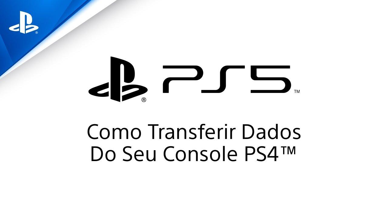 PlayStation 5 - Como transferir seus dados do PS4 para o PS5 | PS4, PS5