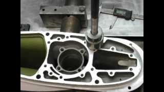 OMC-Johnson outboard drive shaft bearing removal & installation