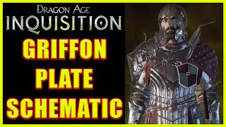 Dragon Age: Inquisition - Griffon Plate Schematic - Griffon Armor