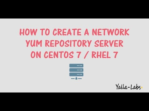 How To Create a Network Yum Repository Server on RHEL 7  / Centos 7
