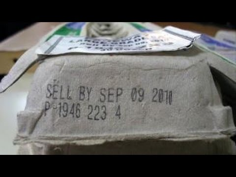 how to find expiration date on food