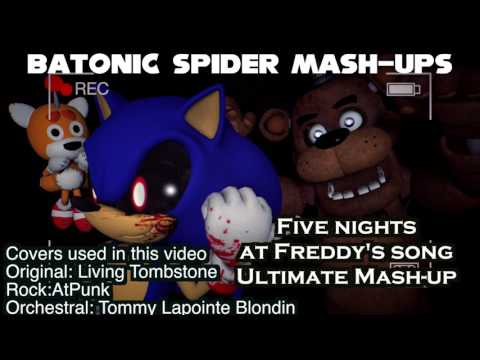 (Music only) FNAF song Ultimate Mash-Up