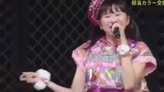 AbemaTV1周年記念色変えライブです!
