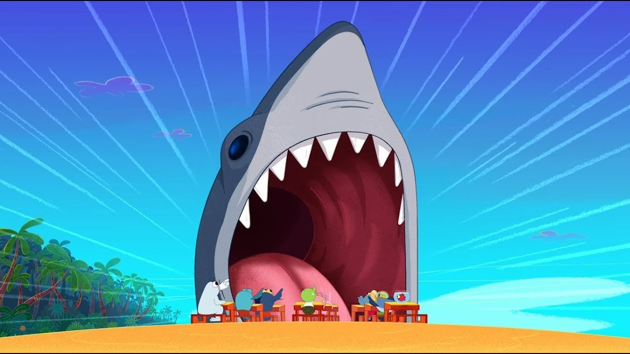 Download Zig & Sharko 🦈 REAL SHARK 🦈 The king of the sea 🌊 Cartoons for Children