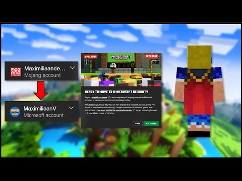Minecraft - How To Migrate Your Mojang Account & Get The Migrator Cape!