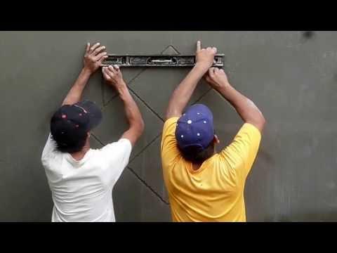 wall plaster design 12413 h - Wall Plastering Designs