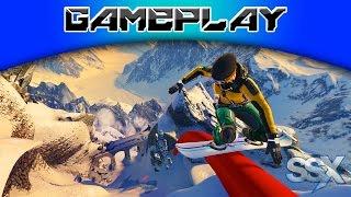 [PS3] Gameplay de SSX (Jogo de Snowboard)