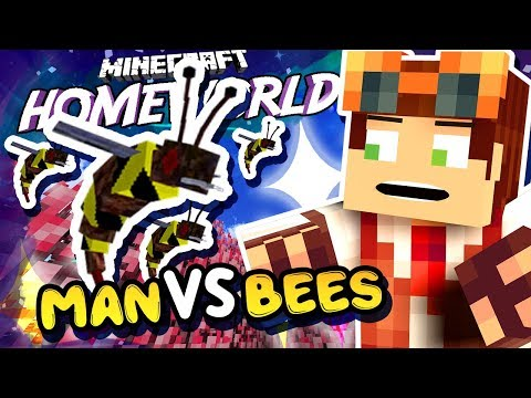 Attack On Bees • Homeworld: Steven Universe Let's Play in Minecraft! [#2]