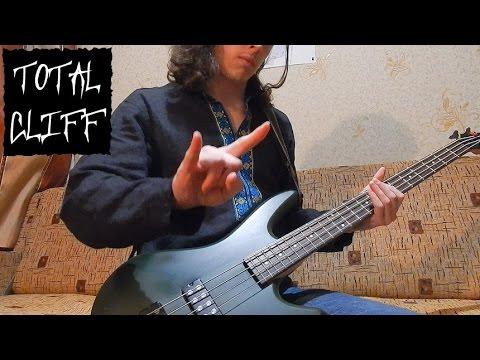 #16 Metallica - Welcome Home (Sanitarium) bass cover (free bass tab on AndriyVasylenko.com)