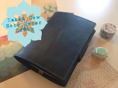 Naked Cow Sea Glass Hobonichi Cover Setup and Review