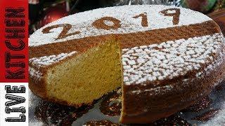 """Η πιο Εύκολη """"ΒΑΣΙΛΟΠΙΤΑ"""" του 2019 χωρίς μίξερ - The Easiest Christmas cake ever - Live Kitchen"""