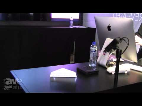 ISE 2015: Joel Rollins Shows You The Smallest Projection Mapping At The Dataton Stand