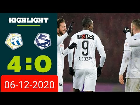 Zurich Lausanne Goals And Highlights