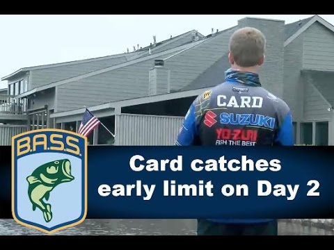 Brandon Card catches an early limit on Ross Barnett Day 2