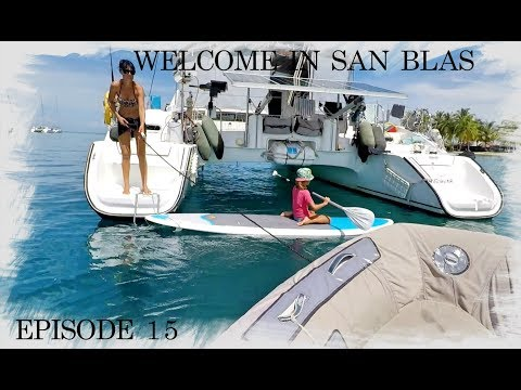 Sailing Trip Family - EP15 - Check in to Panama
