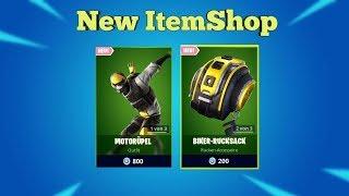 Fortnite Item Shop 7.9.19 I NEUER COOLER SKIN - BACKPACK I Fortnite shop