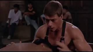 Танец Ван Дамма из фильма 'Кикбоксер' Van Damme dance