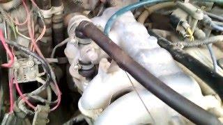 Холостой ход Соболь 405 мотор