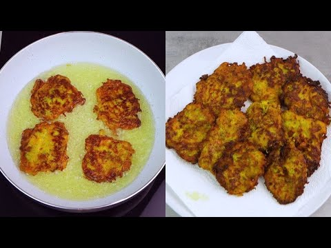 Zucchini fritters cruncy and yummy you will enjoy them