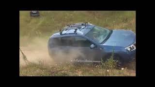 Nissan Terrano, Suzuki SX4 и Mitsubishi Outlander штурмуют песчаный подъем