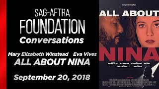 Conversations with Mary Elizabeth Winstead and Eva Vives of ALL ABOUT NINA