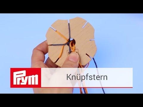 Armbänder knüpfen mit dem Knüpfstern von Prym | Knüpfstern aus Holz