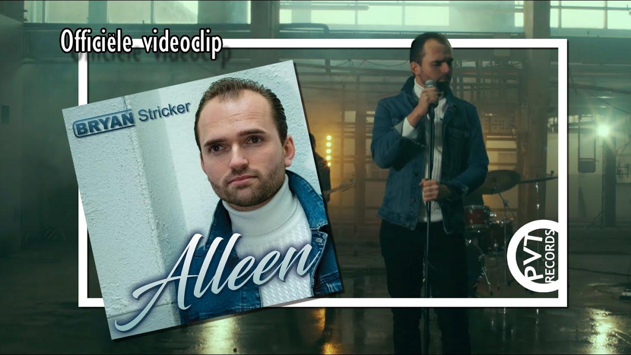 Bryan Stricker - Alleen (officiële videoclip)