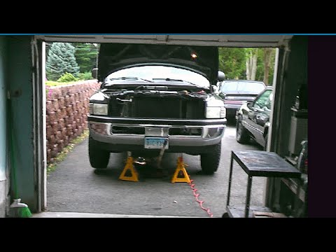 2001 dodge ram 1500 46re transmission deep aluminum pan filter install youtube. Black Bedroom Furniture Sets. Home Design Ideas