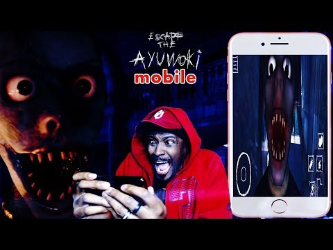 (MOBILE or PC) WHICH ONE IS SCARIER? | Escape The Ayuwoki Mobile Gameplay ENDING