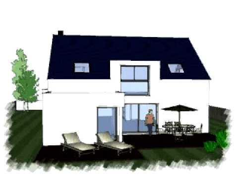 Arteco87 plan maison youtube for Plan maison bretagne