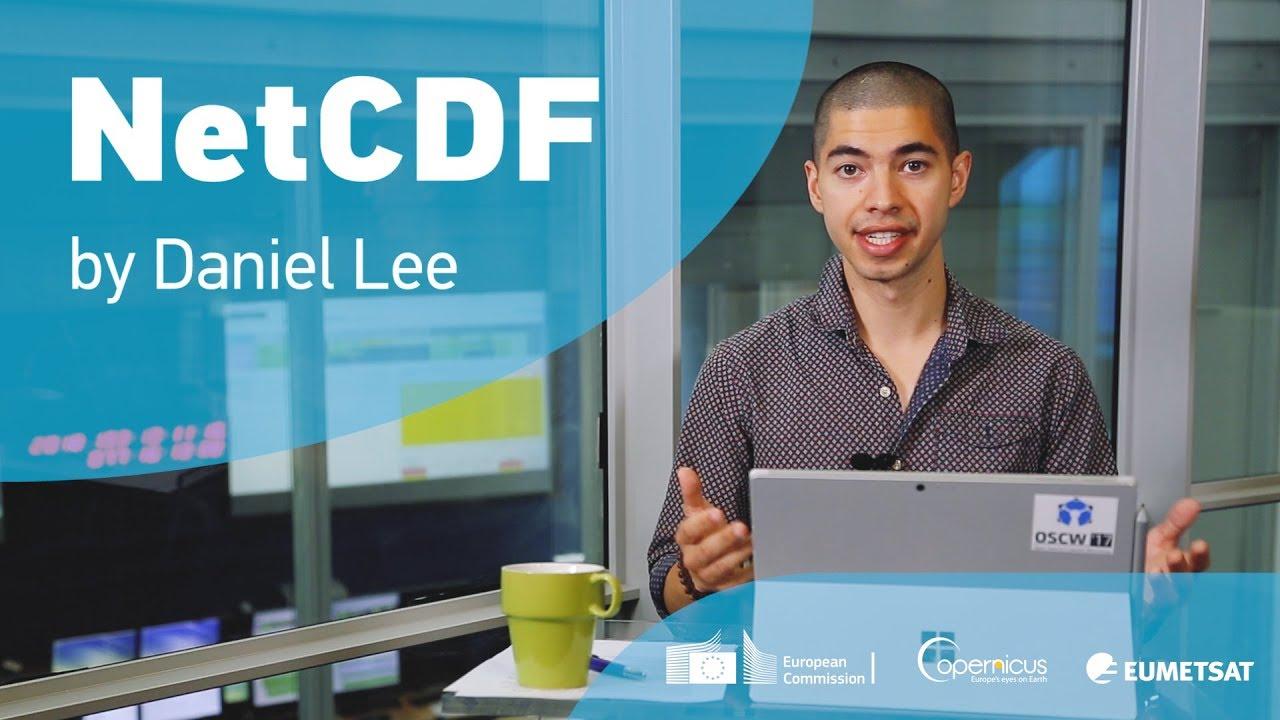 Visualising data in NetCDF format