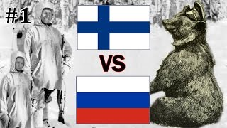 HoI4 - Modern Day Mod - Finland VS Russia - Part 1