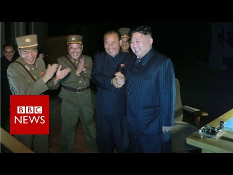 Trump 'disappointed' with China after North Korea missile test - BBC News