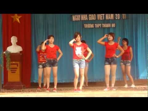 nhay day be day lop 11a1.MP4 Truong THPT TT Thanh Ho