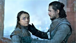Arya tells Jon about Danny's Threat to His Life and Meets Tyrion in Prison Scene  | GOT 8x06 Finale