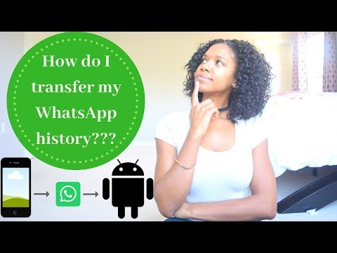 How To Transfer Whatsapp History From IPhone To Android