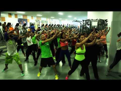 Flash Mob Verão 2014 - Kangaroo Health Club Porto