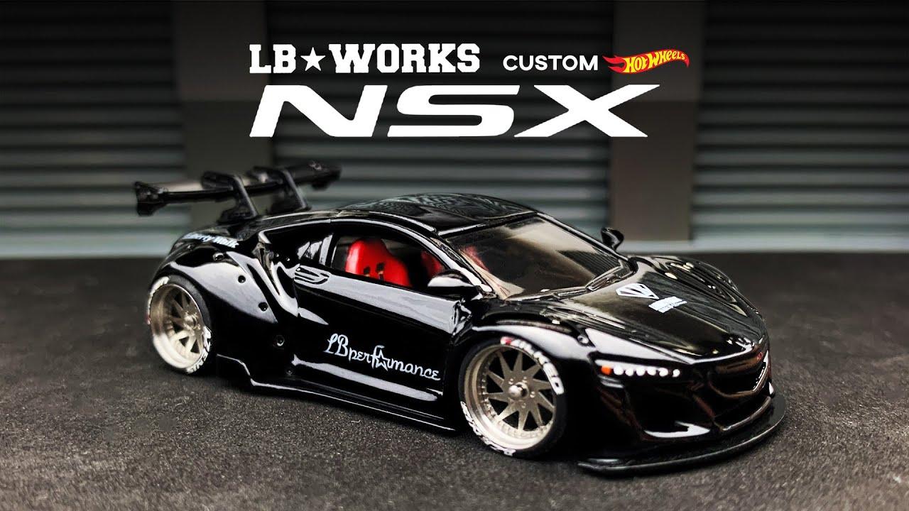 Acura NSX Liberty Walk Custom Hot Wheels